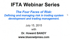 video for lecture on Four Faces of Risk
