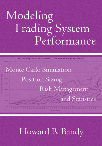 Modeling Trading System Performance book front cover